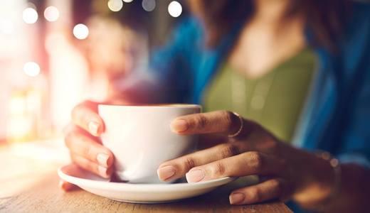 Kaffekopp på kolonialen